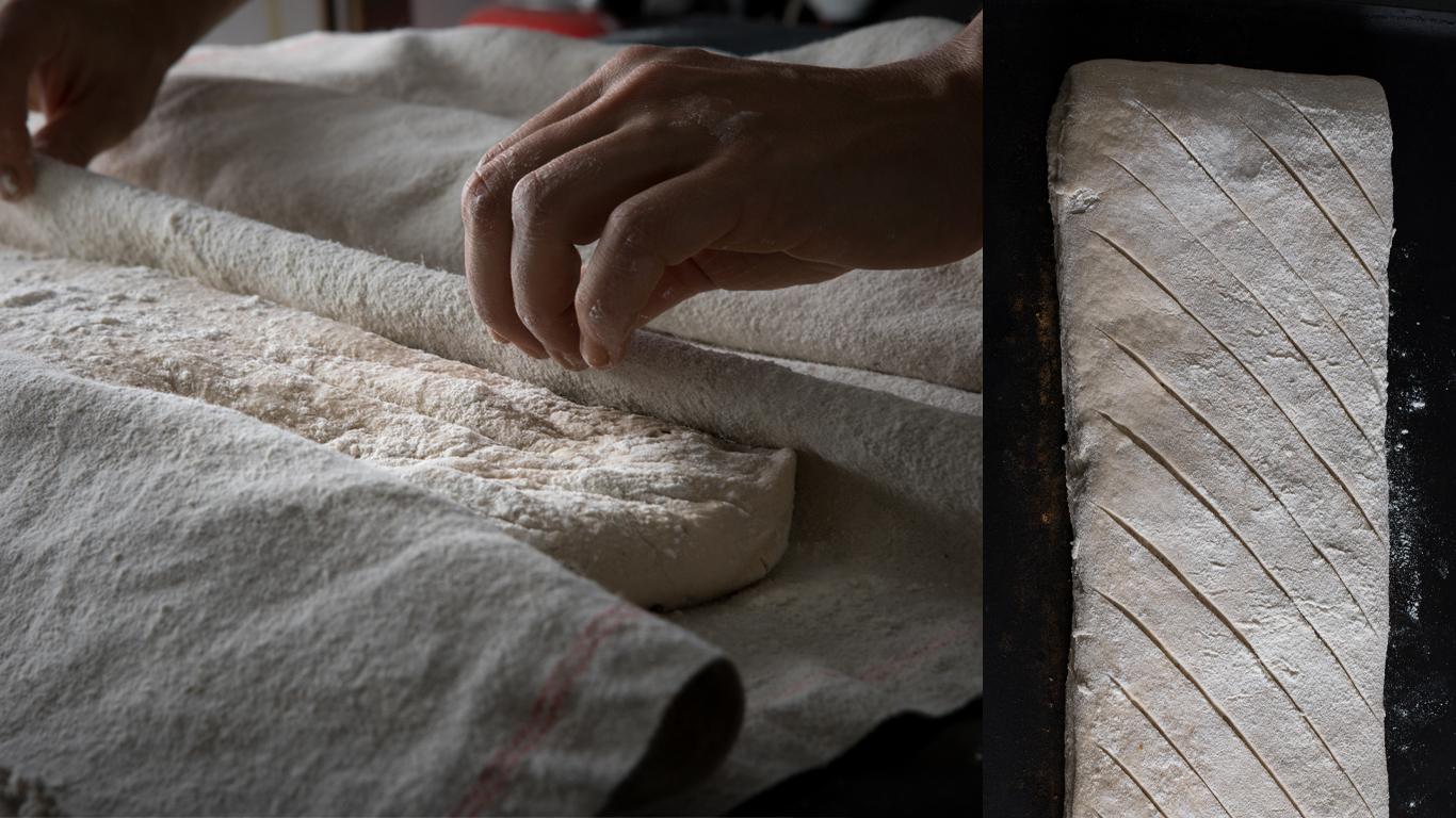 pain maison, qutotidien, la corne d'or
